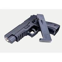 Пистолет пластик+металл ZM 23 стреляет пластиковыми пулями копия SIG Sauer P226