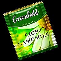 "Чай  Greenfield в пакетиках  ""Rich Camomile"" 100шт Ромашка крупная"