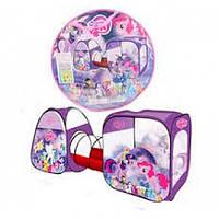 Палатка туннель My little pony 8015 PN (270 - 92 - 92 см) 3777