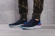 Кроссовки мужские 16101, Nike Epic React, темно-синие ( размер 43 - 28,0см ), фото 2