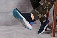 Кроссовки мужские 16101, Nike Epic React, темно-синие ( размер 43 - 28,0см ), фото 5