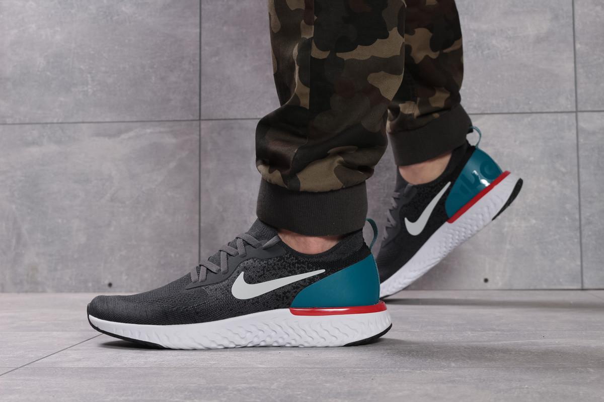 Кроссовки мужские 16103, Nike Epic React, темно-серые ( размер 41 - 26,8см )