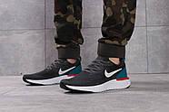 Кроссовки мужские 16103, Nike Epic React, темно-серые ( размер 41 - 26,8см ), фото 2
