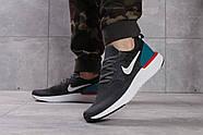 Кроссовки мужские 16103, Nike Epic React, темно-серые ( размер 41 - 26,8см ), фото 4