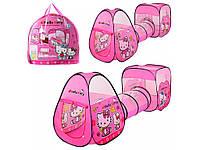 Детская палатка-тоннель Hello Kitty М 3775