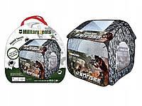 Детская палатка Домик A999-207 Военная