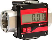 Счетчик учета большого протока топлива, легких масел - MGE-250, 15-250 л/мин (Gespasa)