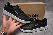 Кроссовки женские 11093, Reebok Club C, черные ( размер 36 - 22,8см ), фото 2
