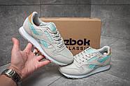 Кроссовки женские 12061, Reebok  Classic, серые ( размер 37 - 23,7см ), фото 2