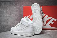 Кроссовки женские 14373, Nike  Air Force 07, белые ( размер 40 - 25,5см ), фото 4