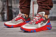 Кроссовки мужские 15392, Nike React, красные ( размер 42 - 27,0см ), фото 2