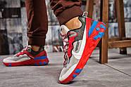 Кроссовки мужские 15392, Nike React, красные ( размер 42 - 27,0см ), фото 4
