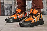 Кроссовки мужские 15523, Adidas Yeezy 700, оранжевые ( размер 43 - 28,0см ), фото 2
