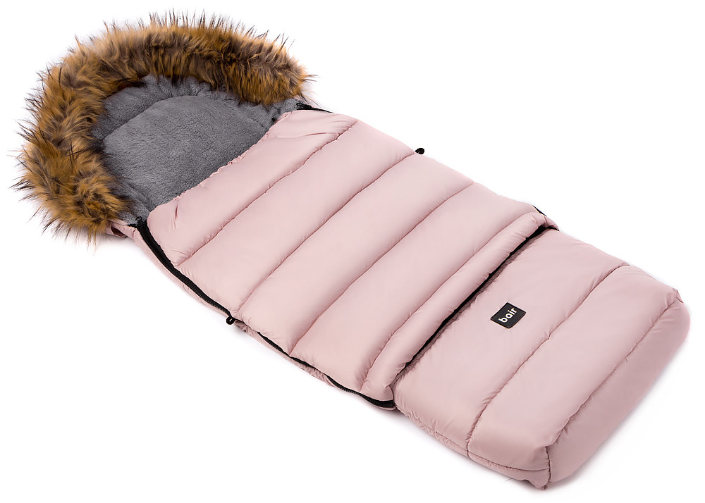 Зимовий конверт Bair Arctic з подовженням рожевий пудра
