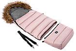 Зимовий конверт Bair Arctic з подовженням рожевий пудра, фото 2