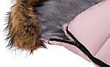 Зимовий конверт Bair Arctic з подовженням рожевий пудра, фото 8