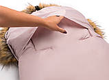 Зимовий конверт Bair Arctic з подовженням рожевий пудра, фото 10