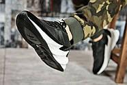 Кроссовки мужские 15602, Adidas Sharks, черные ( размер 44 - 28,0см ), фото 5