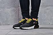Кроссовки женские 16175, Nike Air 270, черные ( размер 37 - 23,6см ), фото 2