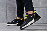 Кроссовки женские 16175, Nike Air 270, черные ( размер 37 - 23,6см ), фото 4