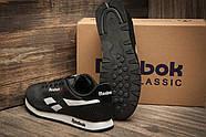 Кроссовки мужские 11282, Reebok Classic, черные ( размер 45 - 28,5см ), фото 5