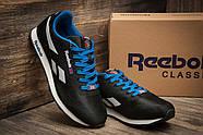 Кроссовки мужские 11286, Reebok Classic, черные ( размер 44 - 28,0см ), фото 3