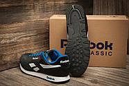 Кроссовки мужские 11286, Reebok Classic, черные ( размер 44 - 28,0см ), фото 4