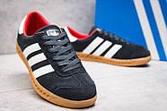 Кроссовки женские 13852, Adidas Hamburg, темно-синие ( размер 37 - 23,2см ), фото 5