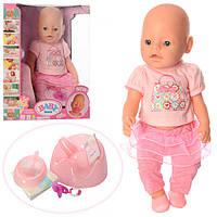 Пупс кукла Беби Борн 8006-457 Маленькая Ляля новорожденный с аксессуарами