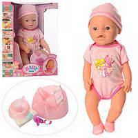 Пупс кукла Baby Born 8006-68A 9 функций Маленькая Ляля