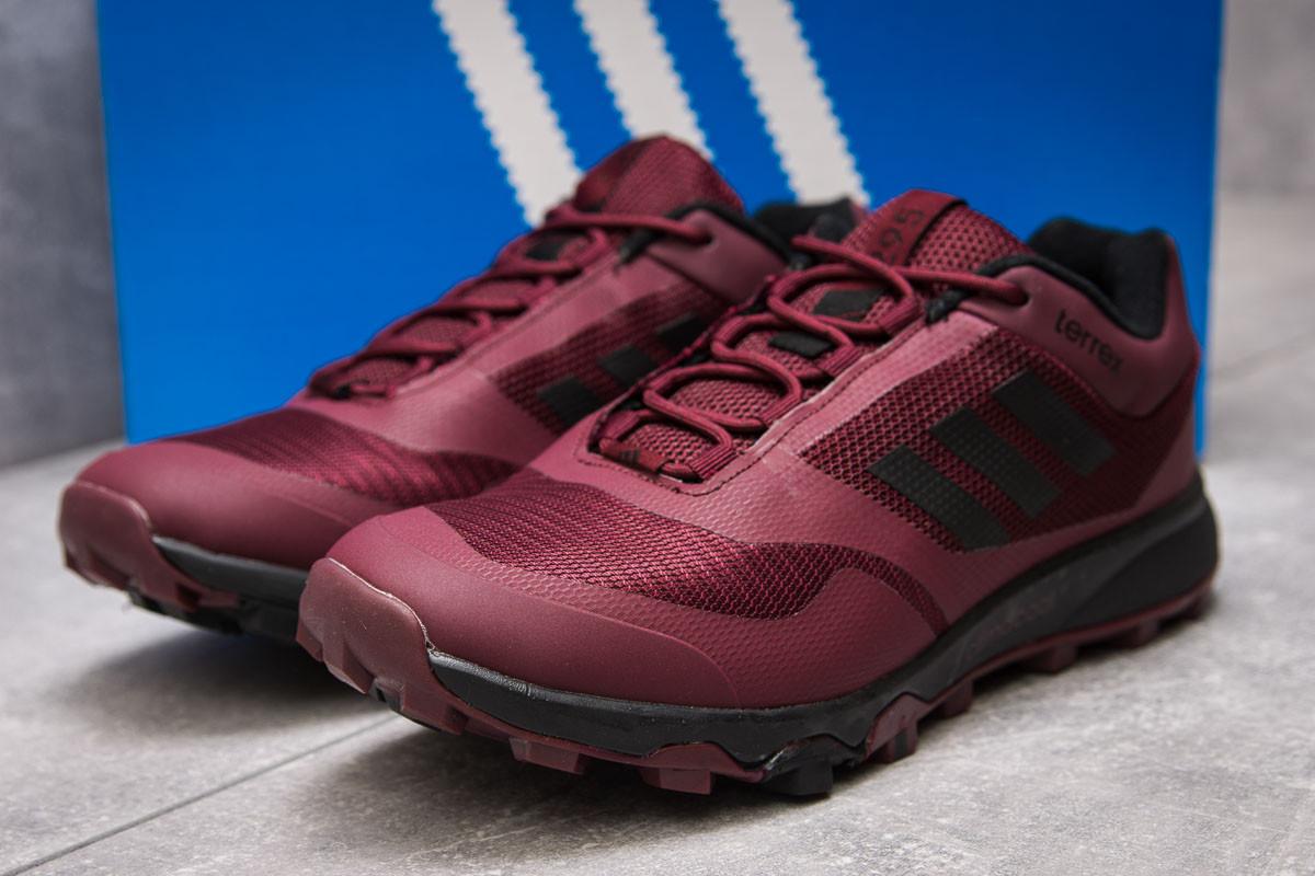 Кроссовки мужские 13895, Adidas Climacool 295, бордовые ( размер 44 - 27,5см )