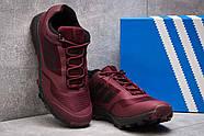 Кроссовки мужские 13895, Adidas Climacool 295, бордовые ( размер 44 - 27,5см ), фото 3