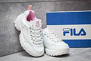 Кроссовки женские 14484, Fila Disruptor 2, белые ( размер 40 - 25,0см ), фото 3