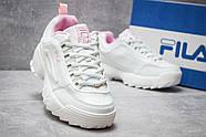 Кроссовки женские 14484, Fila Disruptor 2, белые ( размер 40 - 25,0см ), фото 5