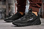 Кроссовки мужские 15391, Nike React, черные ( размер 43 - 28,0см ), фото 2