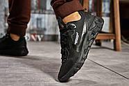 Кроссовки мужские 15391, Nike React, черные ( размер 43 - 28,0см ), фото 4
