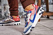 Кроссовки мужские 15393, Nike React, синие ( размер 41 - 26,5см ), фото 4