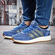 Кроссовки женские 15433, Adidas Iniki, синие ( размер 38 - 24,0см ), фото 2