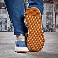 Кроссовки женские 15433, Adidas Iniki, синие ( размер 38 - 24,0см ), фото 3