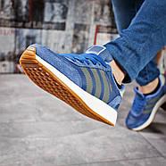 Кроссовки женские 15433, Adidas Iniki, синие ( размер 38 - 24,0см ), фото 5