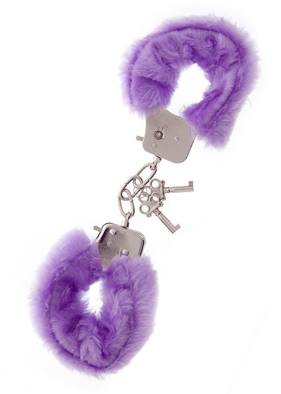 Наручники Metal Handcuff with Plush, LAVENDER