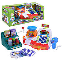 Детский кассовый аппарат 'Мой магазин 7256 Тг