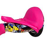 """Защита силиконовая для гироборда Smart Balance 10"""" Pink (Розовый) (SBS10P), фото 2"""