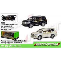 Коллекционная машинка Toyota Land Cruiser арт.7690 'Автопром'