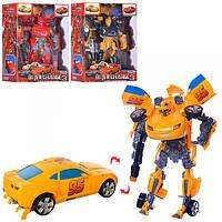 Детский трансформер W5533-143 робот+машинка Тачки