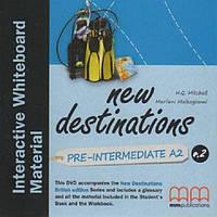 New Destinations. Pre-Intermediate A2. DVD Interactive Whiteboard