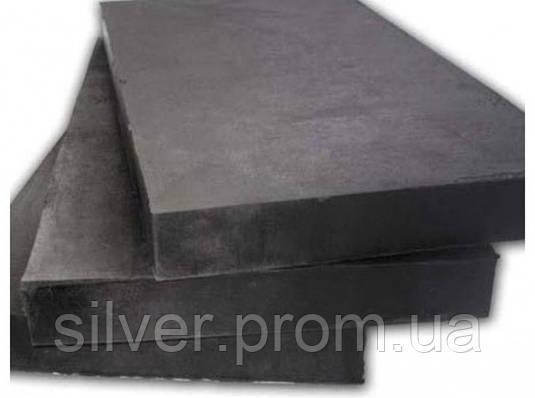 Маслостойкая резина листовая  30мм 1000х1000 мм