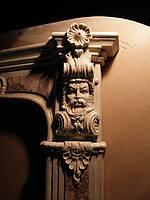Барельеф из мрамора для оформления камина, фото 1
