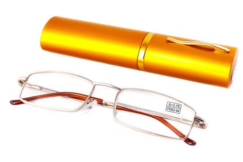 Очки с диоптриями в футляре 2135