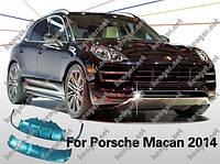 Накладки переднего и заднего бампера Skid Plate на Porsche Macan